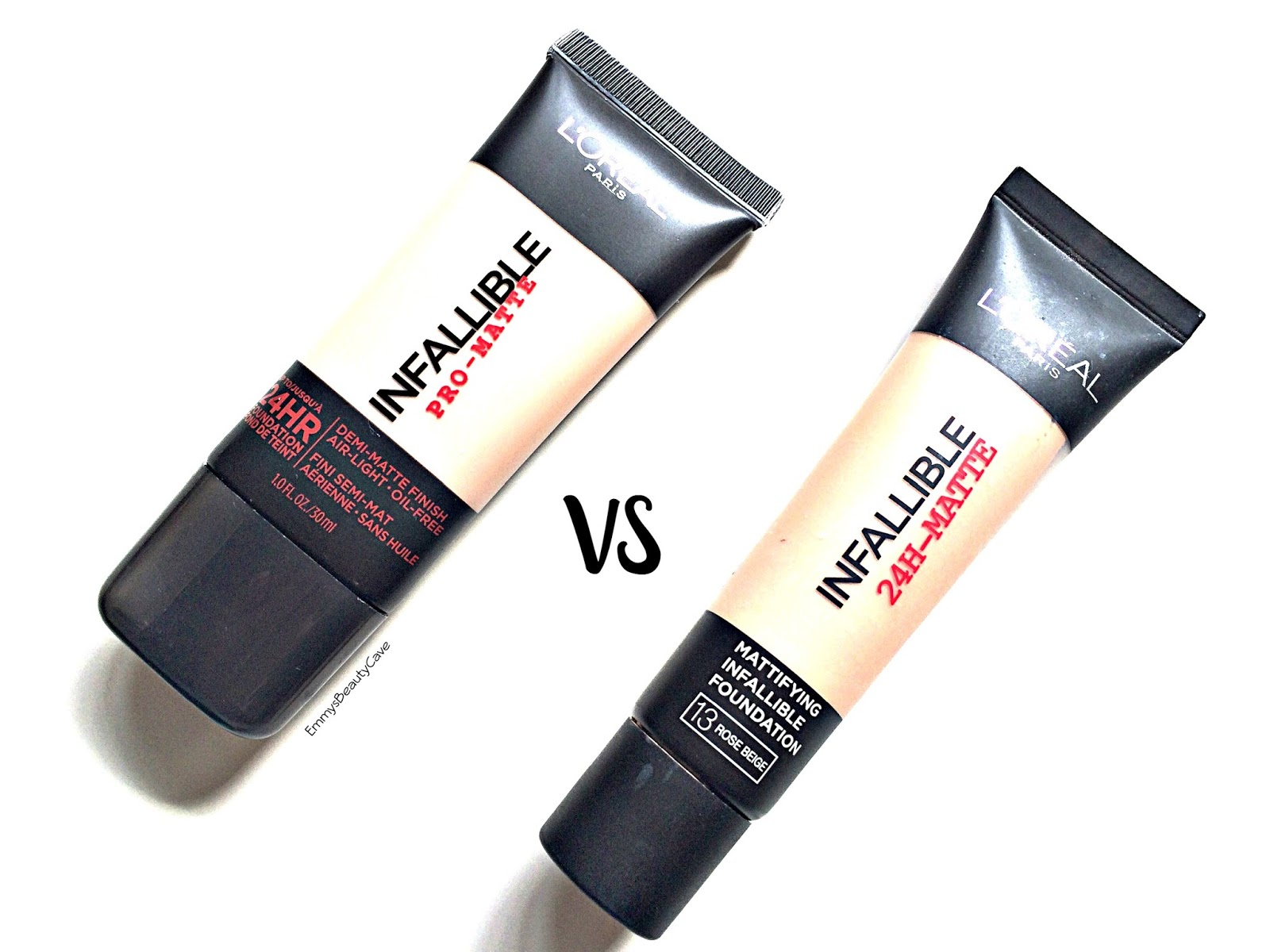 Loreal Infallible Foundation Uk Vs Us Emmywritesabout Pro Matte 24hr Review