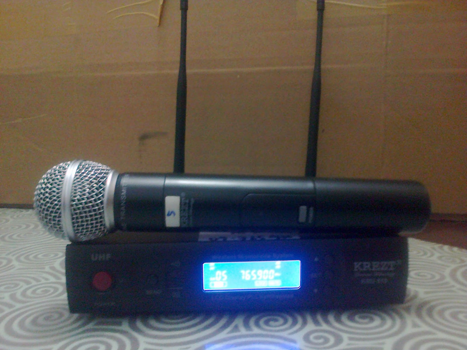Microphone wireless