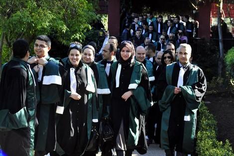انتخاب ممثلي قضاة المحمدية بمكتب الودادية الحسنية