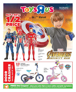 Toys R Us Flyer  Out Door & Play valid April 27 - May 3, 2018