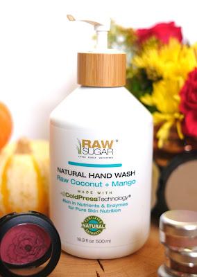 Raw Sugar Hand Wash in Raw Coconut + Mango