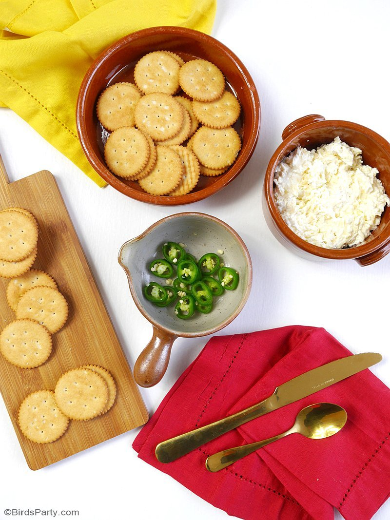 4 Easy Appetizers with RITZ Crackers - Meatloaf and