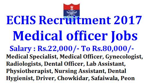 ECHS Recruitment 201
