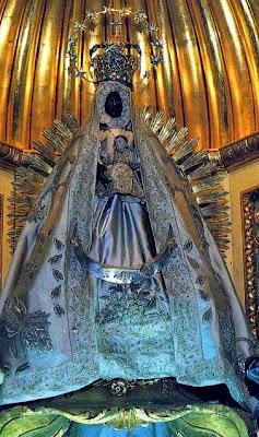 La Virgen de Regla en su Santuario