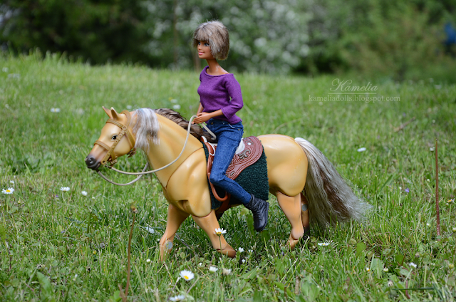 Horseback Riding Barbie