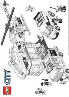 Malvorlagen Lego City Bilder zum Ausmalen