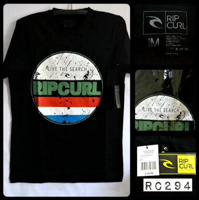 Kaos Distro Surfing Skate RIP CURL Premium Kode RC294