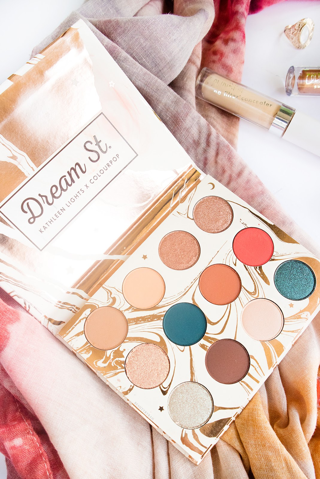 Colourpop Dream St Eyeshadow Palette Review and swatches