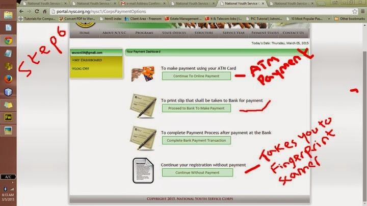portal online registration