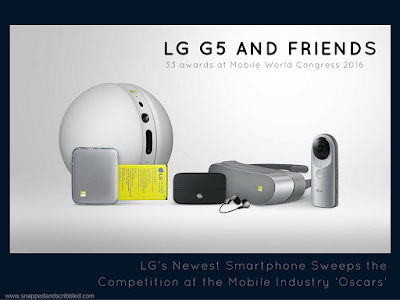LG G5 & Friends Sweeps the Competition at the Mobile Industry 'Oscars'