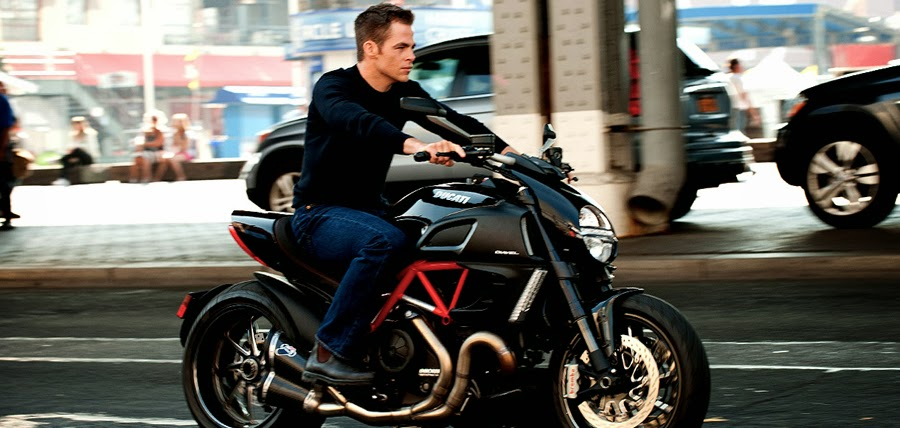 Chris Pine în Jack Ryan: The Shadow Recruit