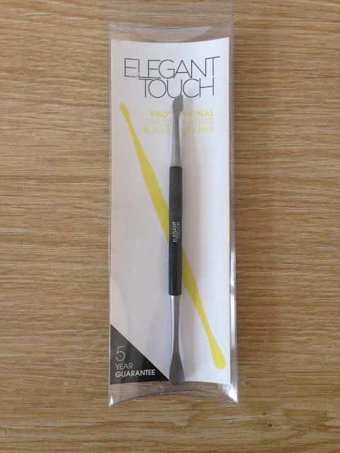 Elegant Touch Professional Cuticle Pusher And Nail Cleaner - Review