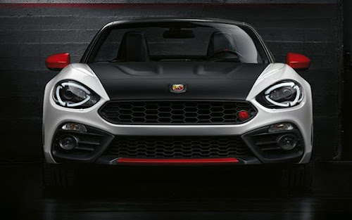 2017 Abarth 124 spider front view