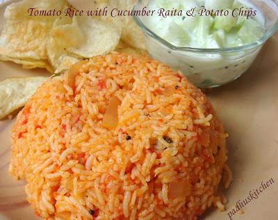 Tomato rice padhuskitchen tomato rice ccuart Choice Image