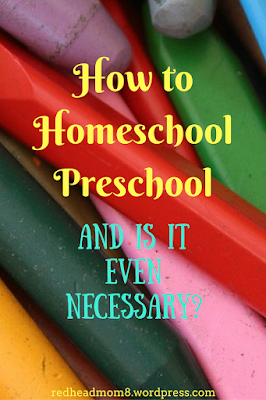 Practical Mondays Feature: How to Homeschool Preschool