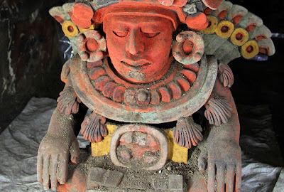 1,200 year-old funerary vessel unearthed in Mexico