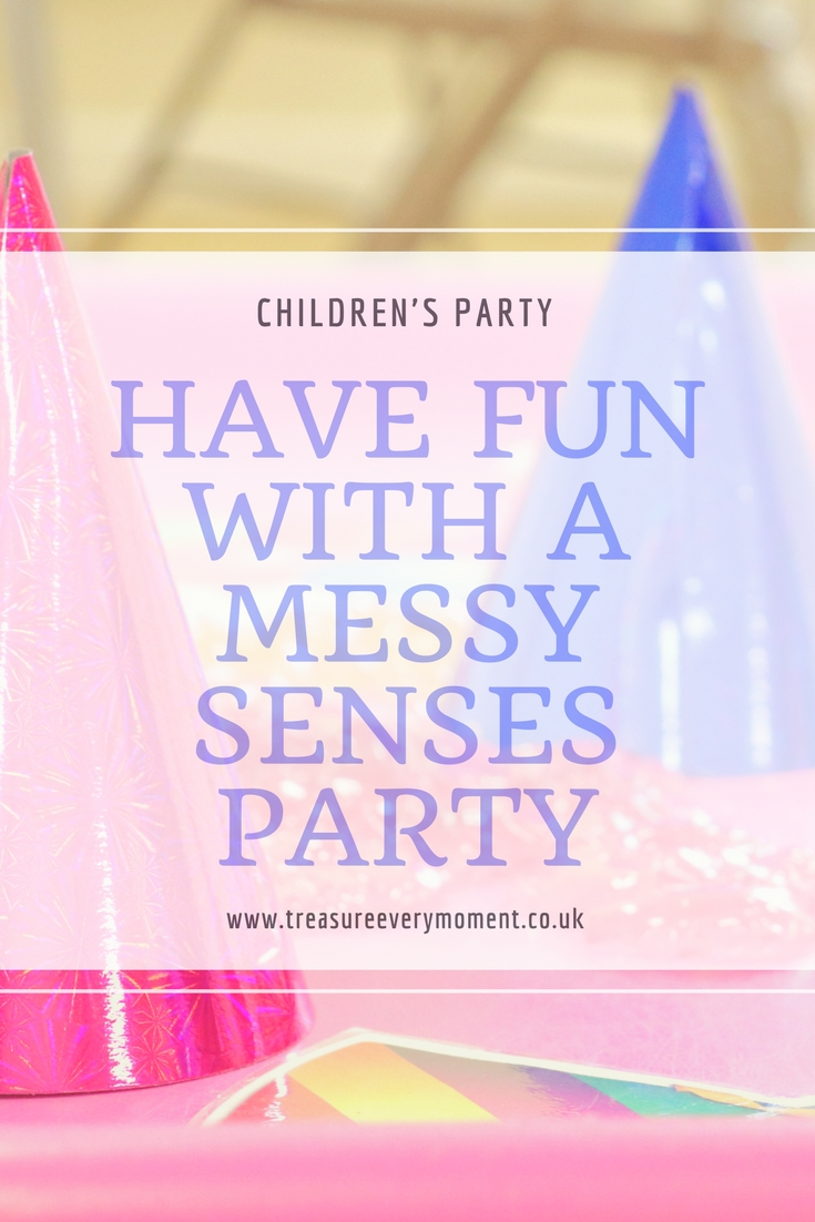 CHILDREN'S PARTY: Having Fun with Messy Senses