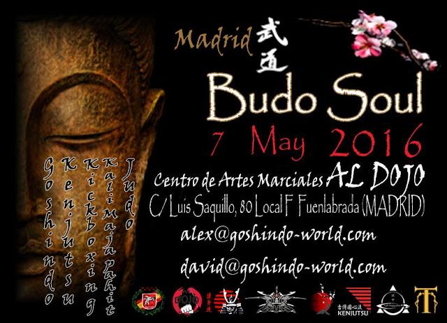 BUDO SOUL MADRID 2016
