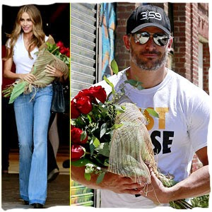 Joe Manganiello entrega Flores a Sofia