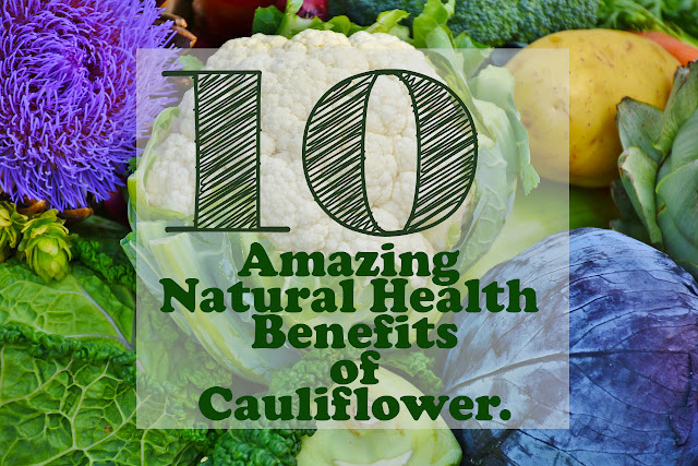 Consuming cauliflower can help reduce swelling and various disorders