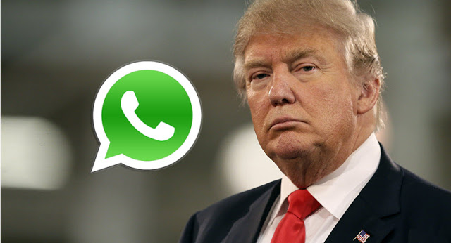 بعد حظر شركة هواوي من دونالد ترامب ، جاء الدور الآن على الواتساب