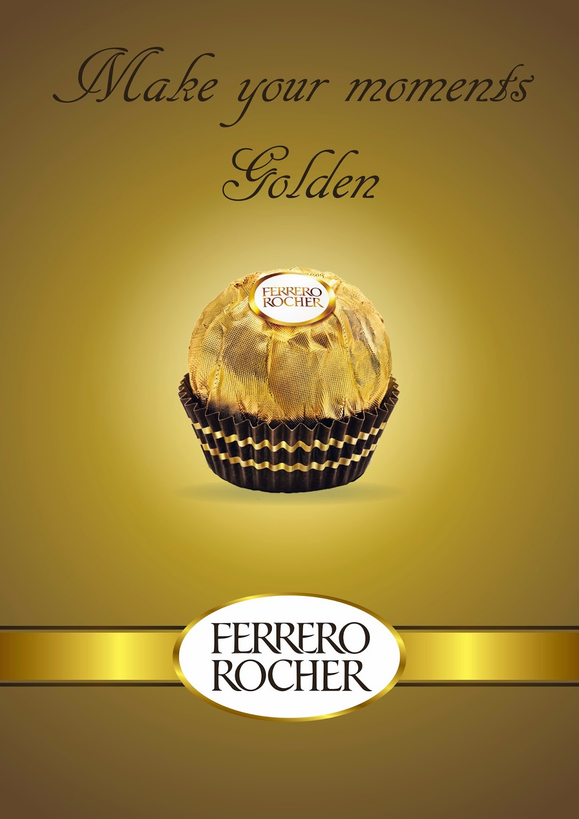 My Works: #18 Ferrero Rocher Poster