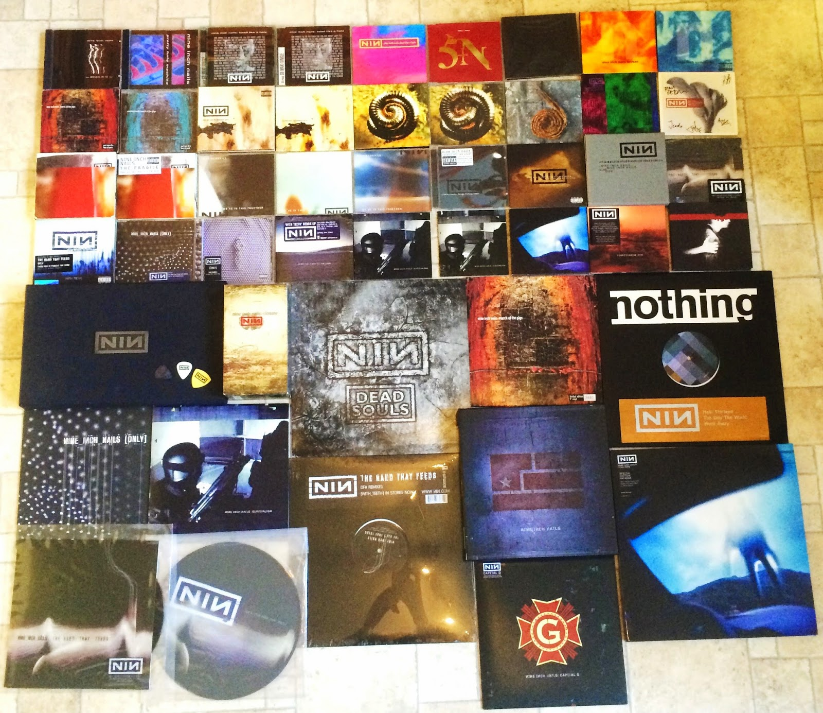 nine inch nails halo collection