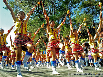 Colorful Ethnic Majorettes