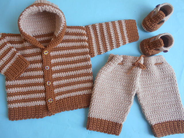 Crochet Crosia Free Patttern With Video Tutorials Baby Jacket And
