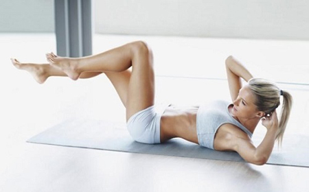 cách giảm béo eo hông bằng bài tập vặn mình