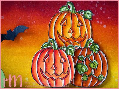 Stampin' Up! rosa Mädchen Kulmbach: Stamp Impressions Blog Hop: Spooky days: Shadow Box Wanddeko mit Fledermäusen, Gespenst, Spinne und Kürbissen aus Ein Haus für alle Fälle, Seasonal Chums, Framelits Anhänger für Winterfeste und Thinlits Zu Hause