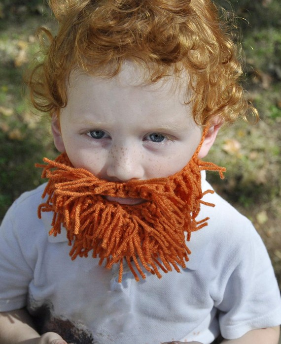 $5.00 To Give Your Child A Yarn Beard | inspirasean