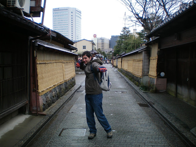 Barrio samurai de Kanazawa