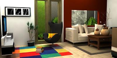 Konsep minimalis modern untuk ruang keluarga