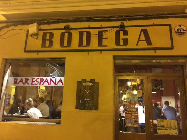 Bar España, Palma de Mallorca.