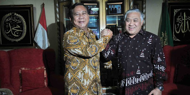 Hanya Prabowo-Din atau Prabowo-UAS yang Mampu Imbangi Jokowi-Ma'ruf