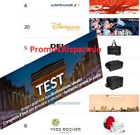 Logo Vinci gratis la Francia, 51 premi e oltre 20 viaggi