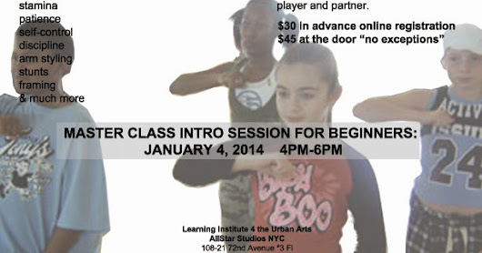 AFRO-SALSA HIPHOP PARTNER DANCING ~ Carlena Gourdine's Learning Institute 4 the Urban Arts™
