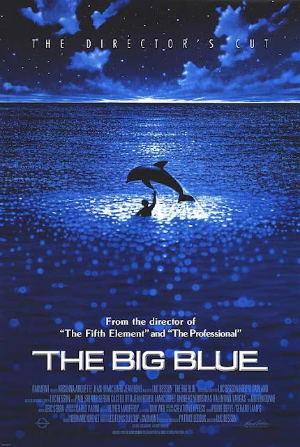 """The Big Blue 1988"" Cast : Jean-Marc Barr, Jean Reno , Rosanna Arquette, Director: Luc Besson"