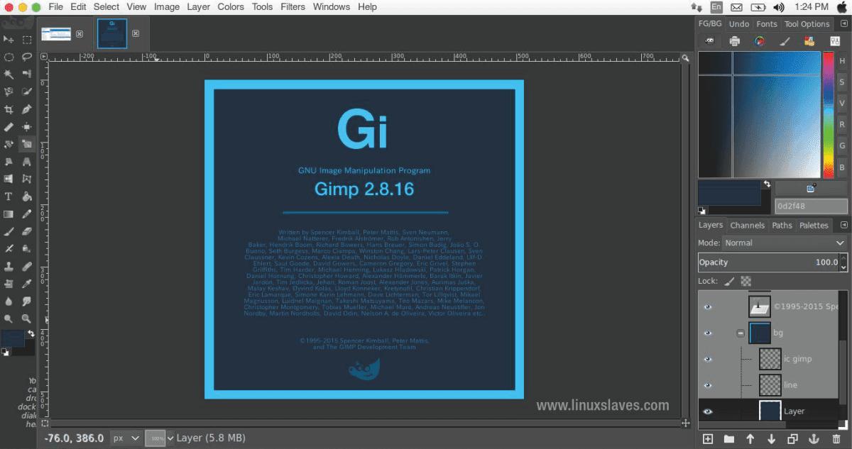 Aplikasi Pengganti CorelDRAW Illustrator - GIMP