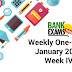 Weekly One-Lines January 2018: Week IV