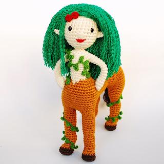 gaia-centauro-amigurumi-patrón-pdf-ganchillo-crochet-diosa-naturaleza