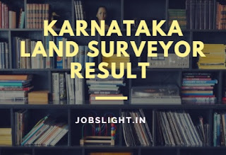 Karnataka Land Surveyor Result