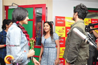 Vidyut Jamwal Adah Sharma Commando 2 Movie Team at Radio Mirchi 95  0039.jpg