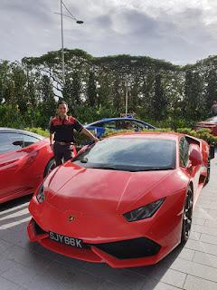 Yuantai and Lamborghini Huracan