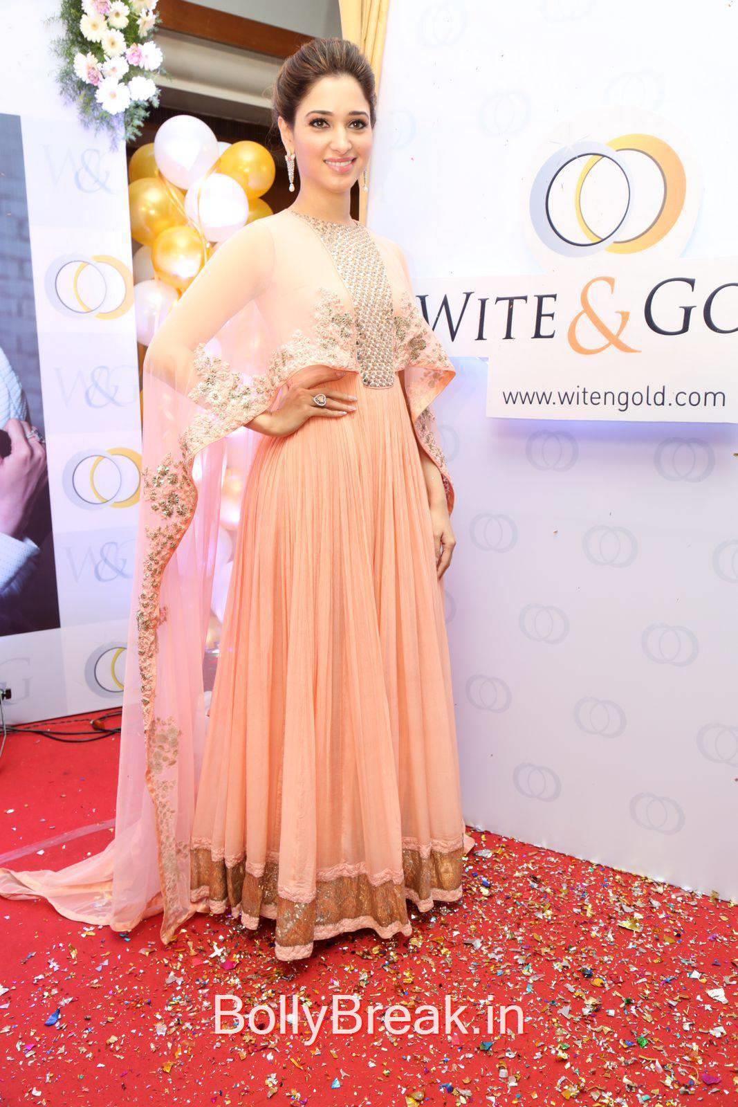 Tamanna Photos, Tamanna Bhatia Whitegold.Com Venture launch Pics