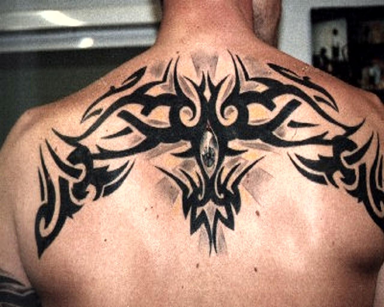 Tattoos for Men 2011: Back Tribal Tattoos For Men ...