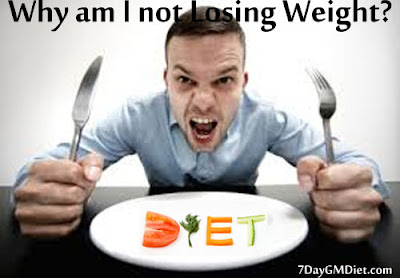Why am I not losing weight on GM Diet?