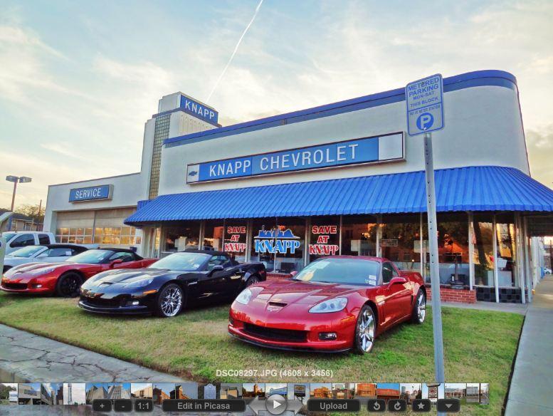 Knapp Chevrolet Dealership In Historic Building On Washington Ave. At  Houston Avenue