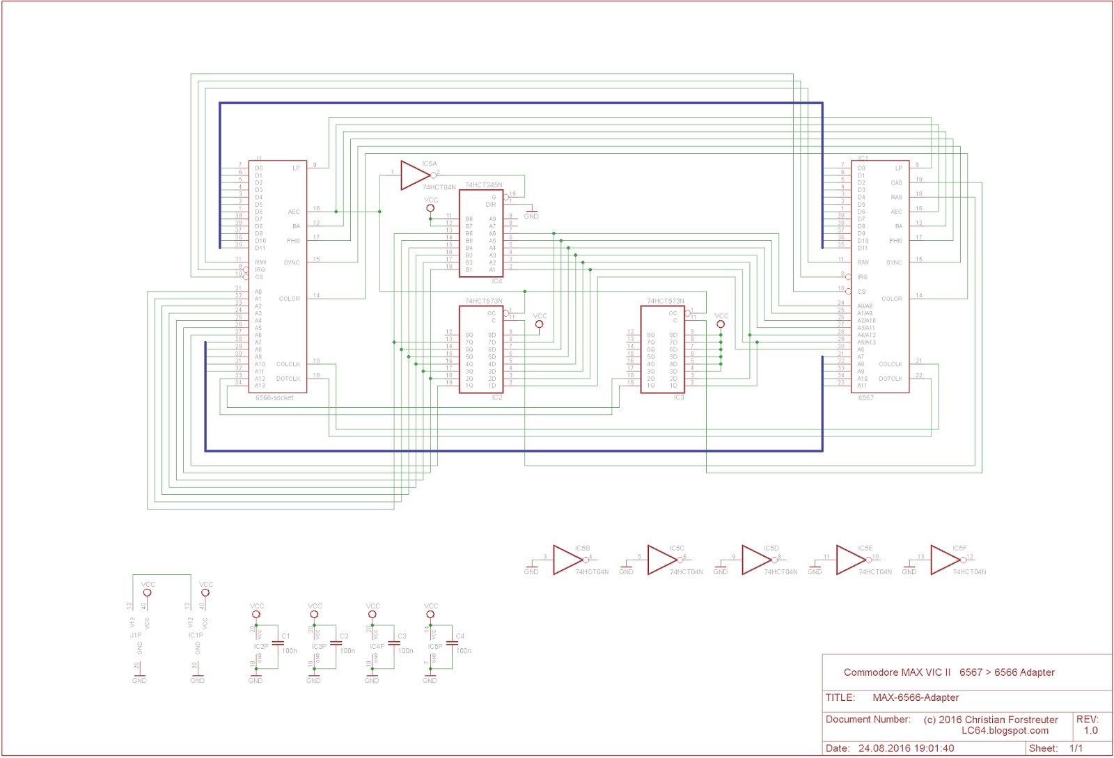 Lc64 A Modular Plcc Computer Amp Cbm Stuff Schematics
